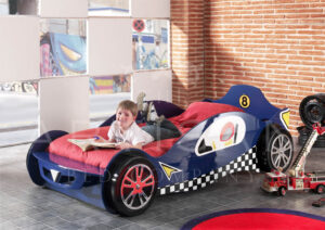 BLUE CAR RACER
