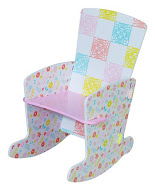 COUNTRY COTTAGE ROCKING CHAIR