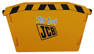 JCB SKIP TOY BOX