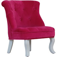 MINI CHAIR CABRIO PINK VELVET