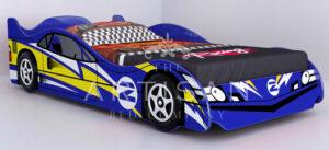NO2 CAR RACER BLUE