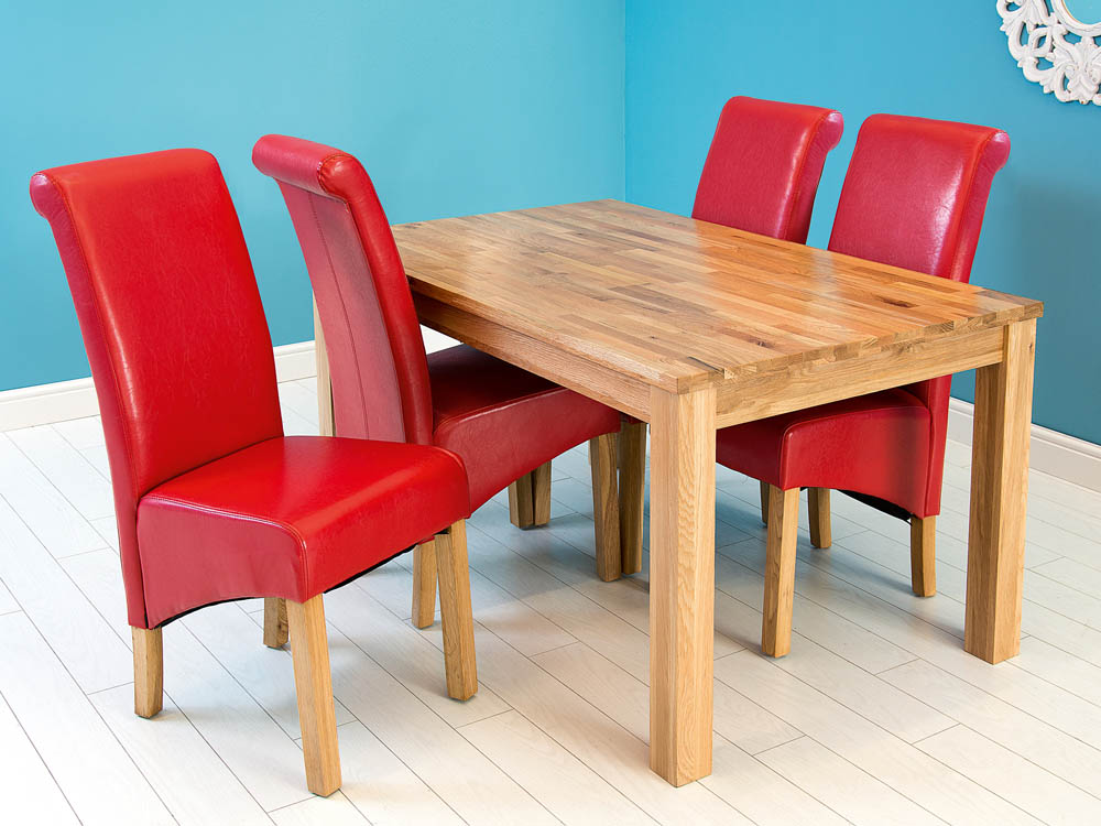 CHARTER OAK DINING TABLE