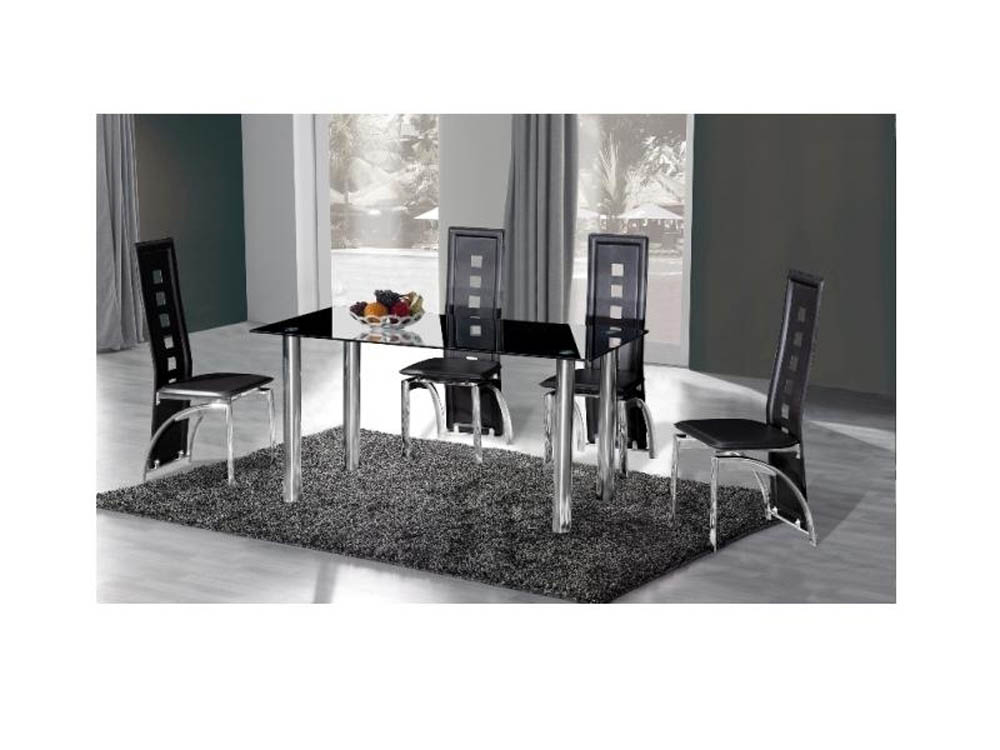 CRYSTAL DINING TABLE 150