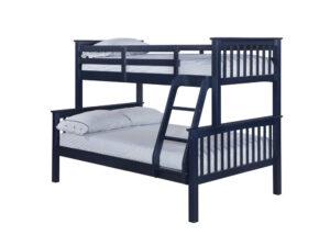 OTTO TRIO BUNK BED NAVY BLUE.