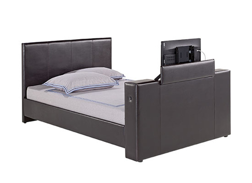 MORTON TV BED 5' KING.