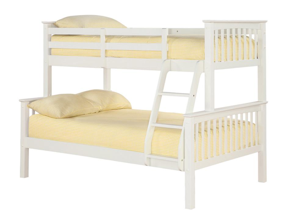 OTTO TRIO BUNK BED OFF WHITE.