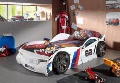 WHITE CAR RACER NO88 BED.