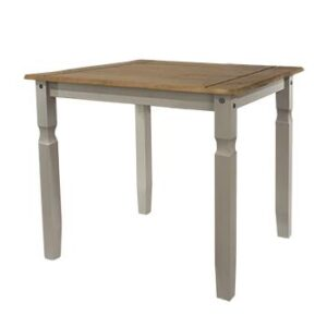 GREY DINING TABLE 750MM.