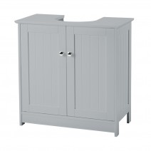 ALASKA 2 DOOR SOFT GREY VANITY UNIT FOR SINK.