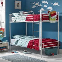 APOLLO BUNK BED WHITE.