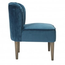 BELLA CHAIR BLUE.