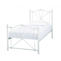 BRONTE OFF WHITE BED SINGLE.