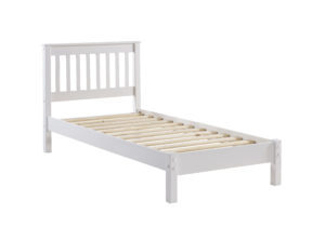 CAITHNESS 3' SINGLE SLATTED LOWEND BED.