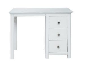NAIRN SINGLE PEDESTAL DRESSING TABLE.