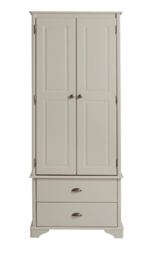 BRORA 2 DOOR 2 DRAWER WARDROBE.