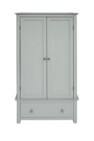 ELGIN 2 DOOR 1 DRAWER WARDROBE.