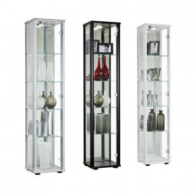 SELBY DISPLAY UNIT 1 DOOR BLACK.