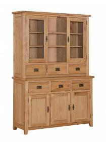 DENSLEY OAK HUTCH 3 DOORS.