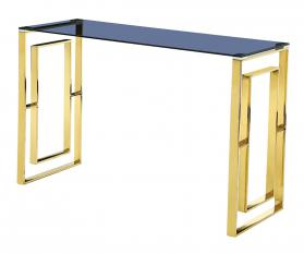 MEMPHIS CONSOLE TABLE GOLD.