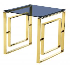 MEMPHIS LAMP TABLE GOLD.