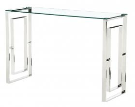 MEMPHIS CONSOLE TABLE SILVER.