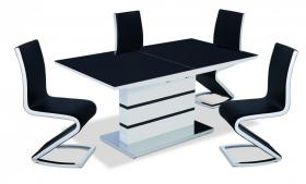 ALDRIDGE EXTENDING TABLE  SET.