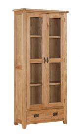 DENSLEY OAK DISPLAY UNIT.