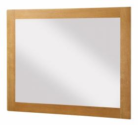 BROCTON SOLID OAK MIRROR LARGE.