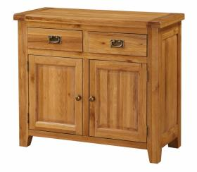 BROCTON SOLID OAK SIDEBOARD 2 DOOR X 2 DRAWER.