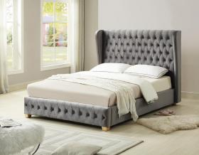 ANDERTON BED KING SILVER.
