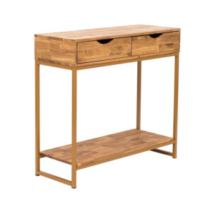 MIRELLE CONSOLE TABLE GOLD.