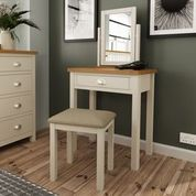 DRESSING TABLE. DOVE GREY.